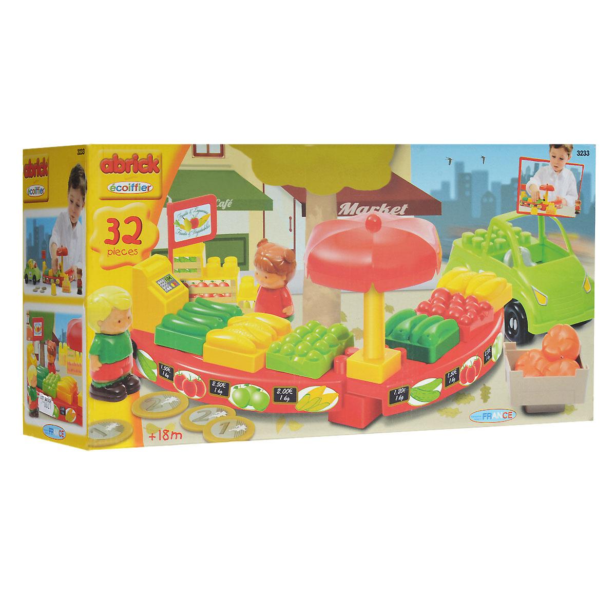 """Ecoiffier Игровой набор-конструктор """"Магазин"""", 32 элемента #1"""