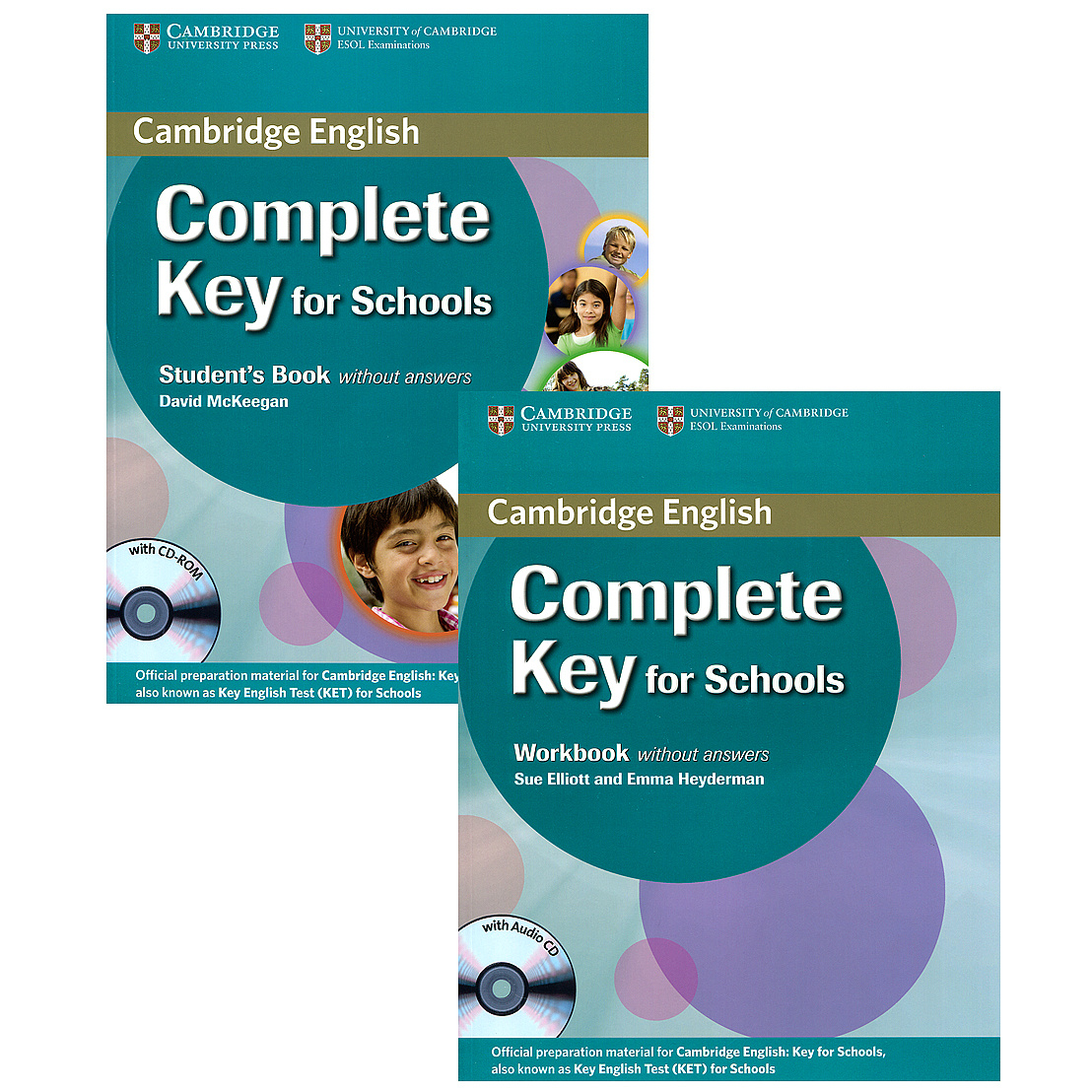 Complete Key for Schools (комплект из 2 книг + 2 CD) | McKeegan David, Elliott Sue #1