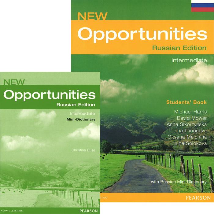New Opportunities: Intermediate: Students' Book (комплект из 2 книг) | Мауэр Дэвид, Сикорзинская Анна #1