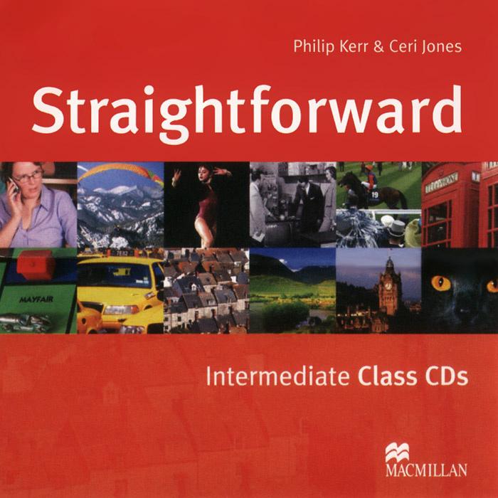 Straightforward: Intermediate: Class CDs (аудиокурс на 2 CD) | Kerr Philip, Jones Ceri #1