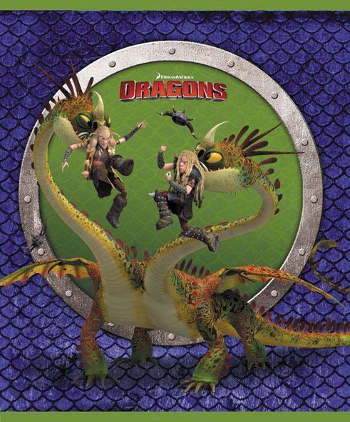 Набор тетрадей Action! Dragons, 48 листов в клетку, 4 шт, 4 дизайна обложки в ассортименте  #1