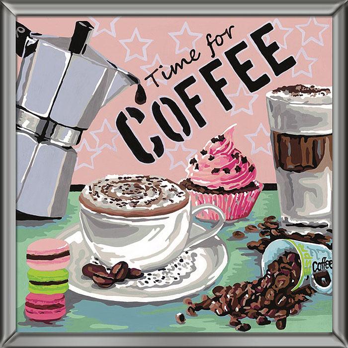 Ravensburger Раскрашивание по номерам Кофе #1