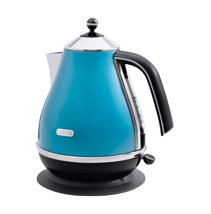 Электрический чайник DeLonghi DeLonghi KBO 2001.B, синий-черный #1