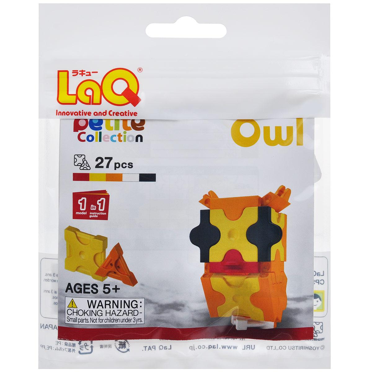 """Конструктор LaQ """"Owl"""", 27 элементов #1"""
