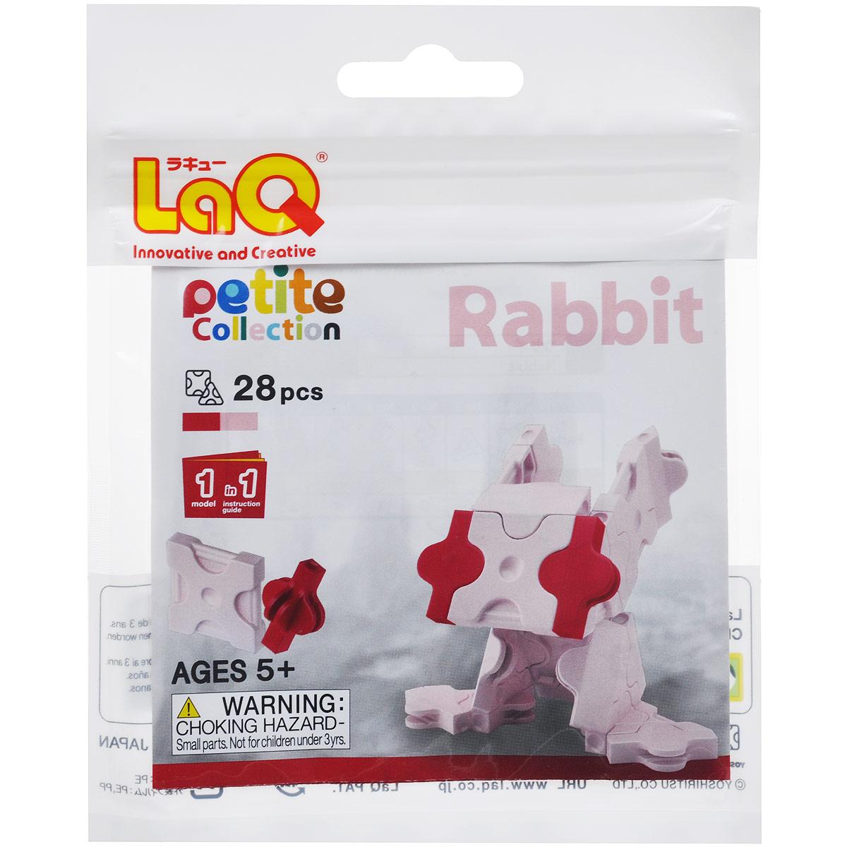 """Конструктор LaQ """"Rabbit"""", 28 элементов #1"""