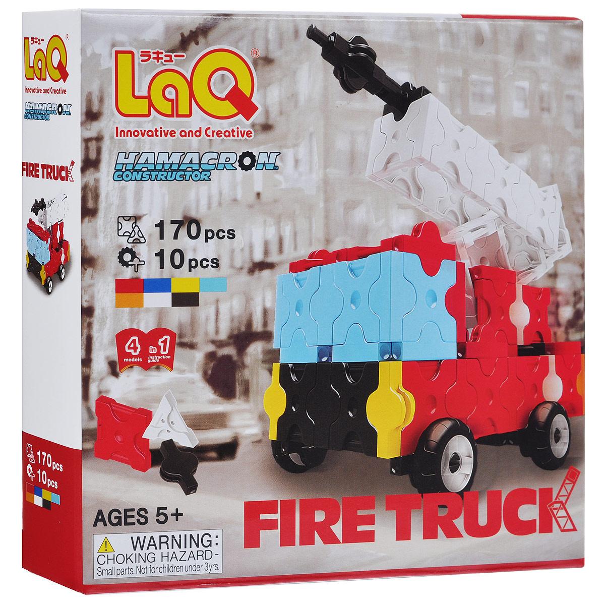 """Конструктор LaQ """"Fire Truck"""", 180 элементов #1"""