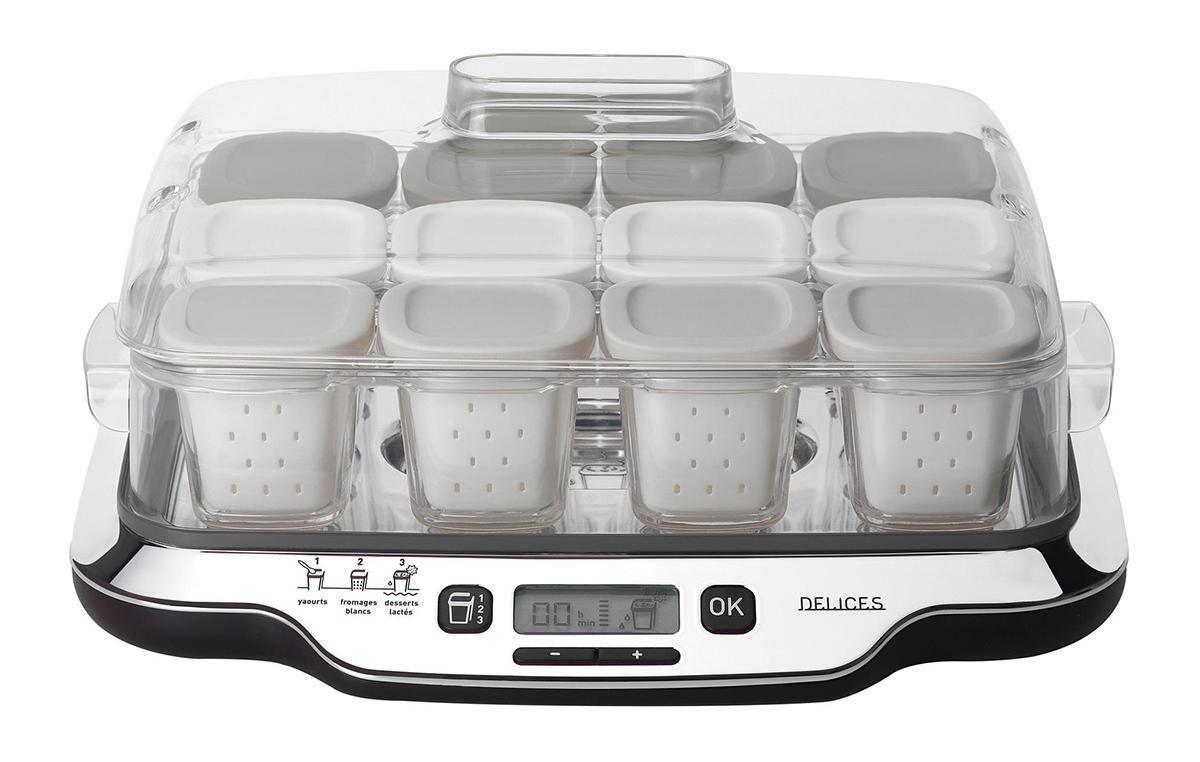Tefal YG6528 Йогуртница Multidelice 3-в-1: йогурты #1