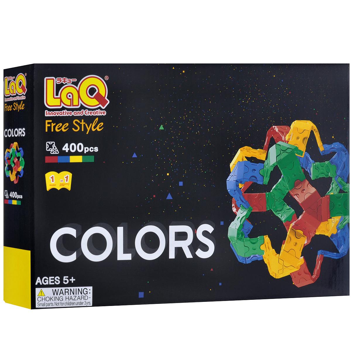 "Конструктор LaQ ""Free Style: Colors"", 400 элементов #1"