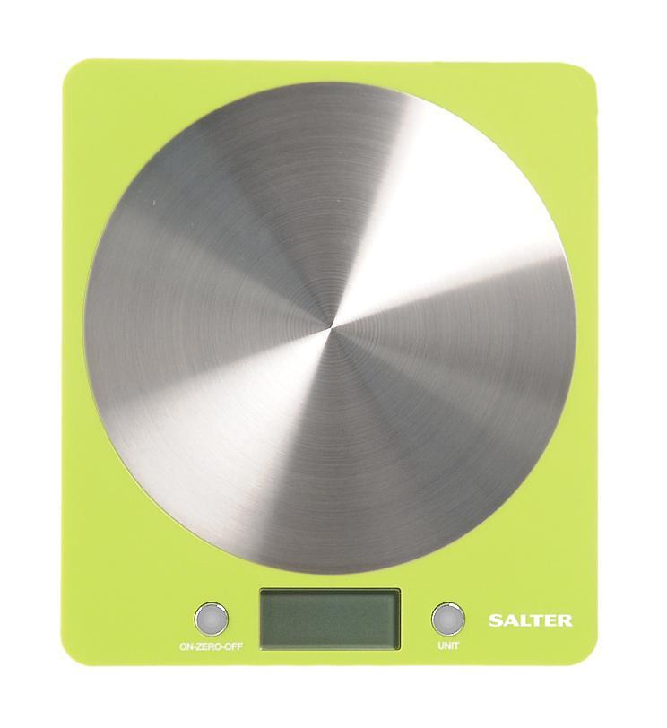 HoMedics Salter 1046 весы кухонные, Green #1