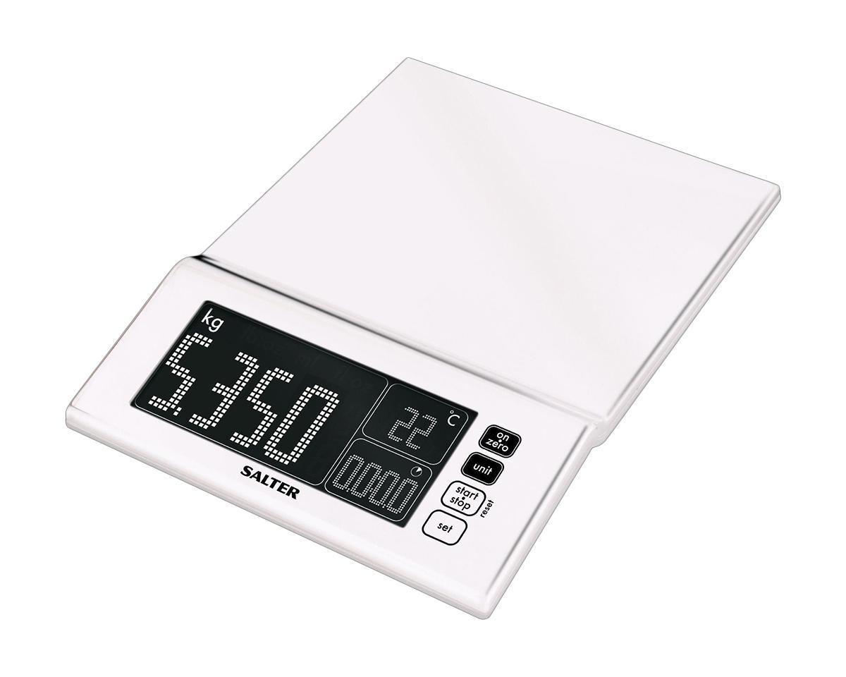 HoMedics Salter 1085 весы кухонные, White #1