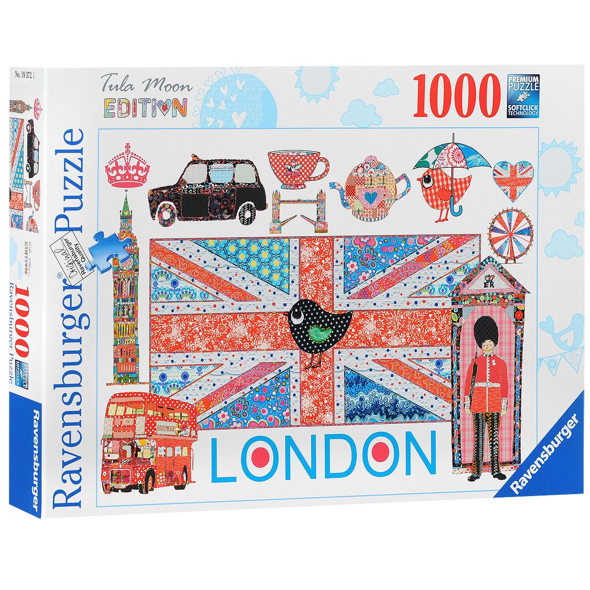 Ravensburger Лондон. Пазл, 1000 элементов #1