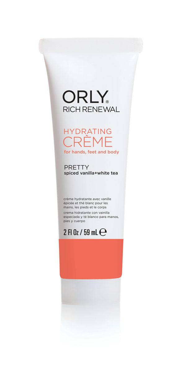 """Orly Крем для рук, ног и тела """"Rich Renewal Pretty"""", восстанавливающий, с ароматом пряной ванили и белого #1"""