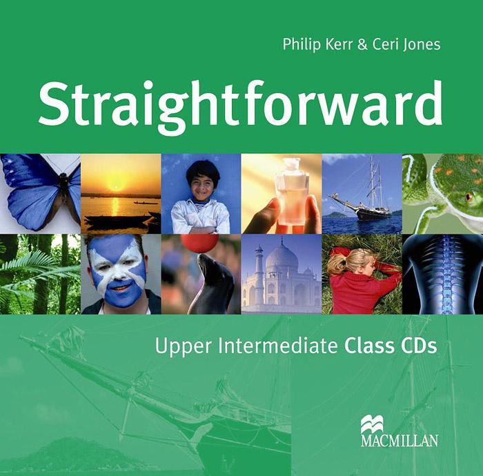 Straightforward: Class CDs: Upper-Intermediate Level (аудиокурс на 2 CD) | Kerr Philip, Jones Ceri  #1