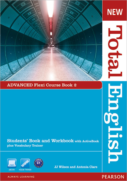 New Total English: Advanced: Flexi Course Book 2: Students' Book and Workbook with ActiveBook + Vocabulary #1