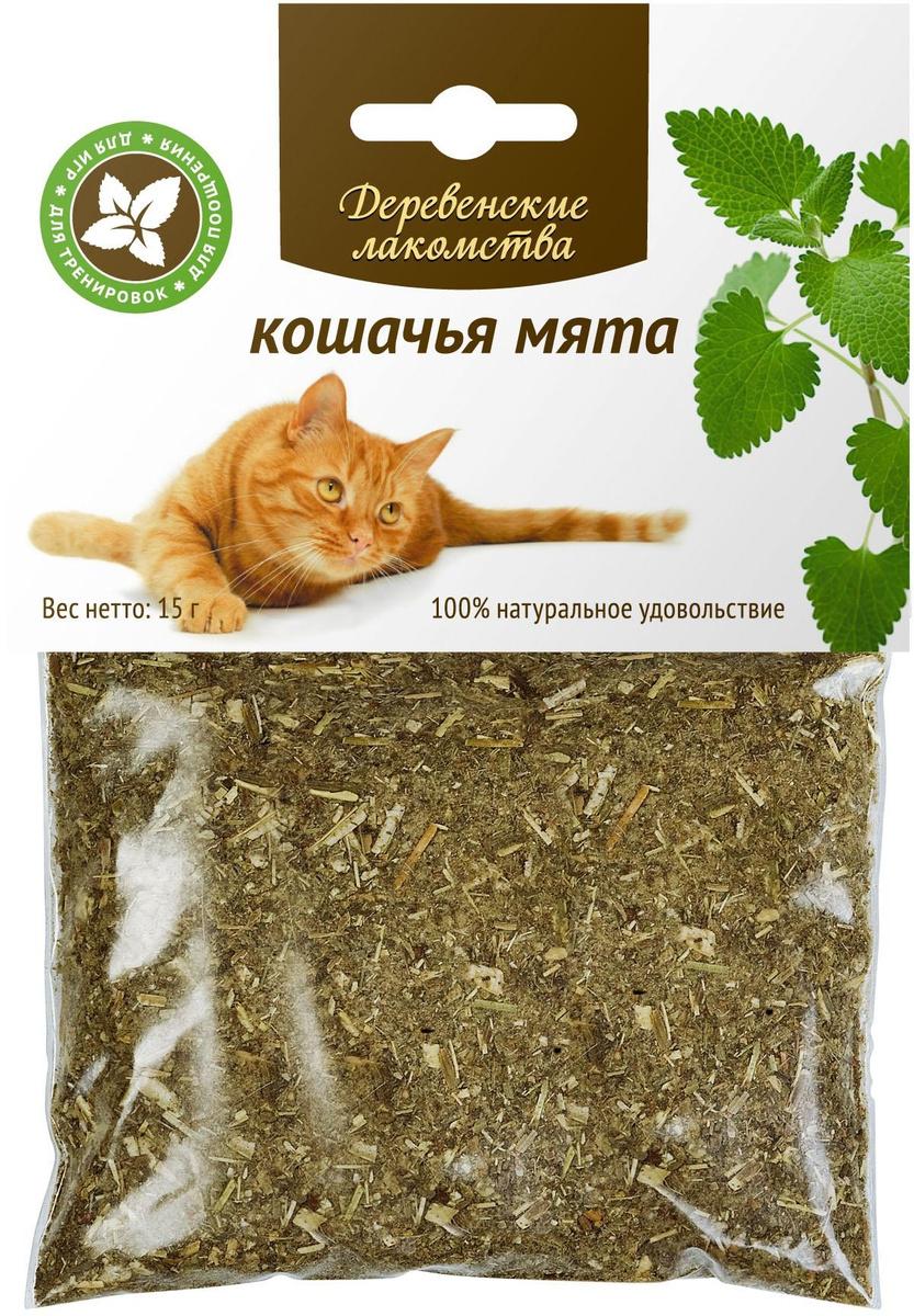 """Мята кошачья """"Деревенские лакомства"""", 15 г #1"""