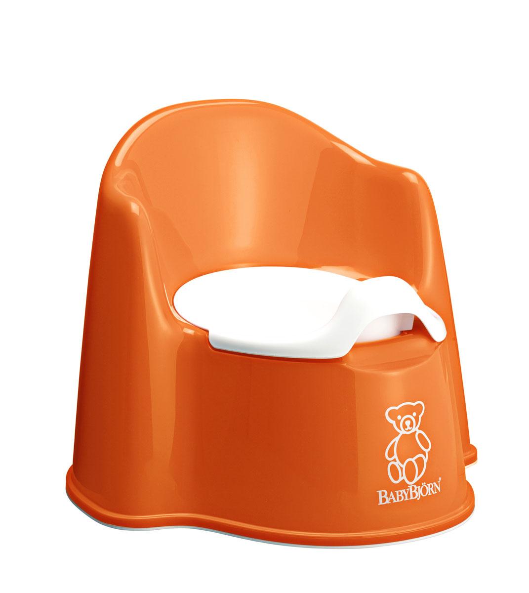 """Горшок-кресло """"BabyBjorn"""", цвет: оранжевый, белый #1"""