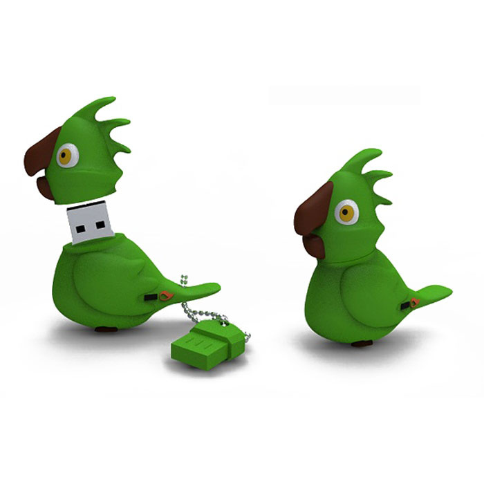 USB Флеш-накопитель Iconik Iconik Попугай , Green #1