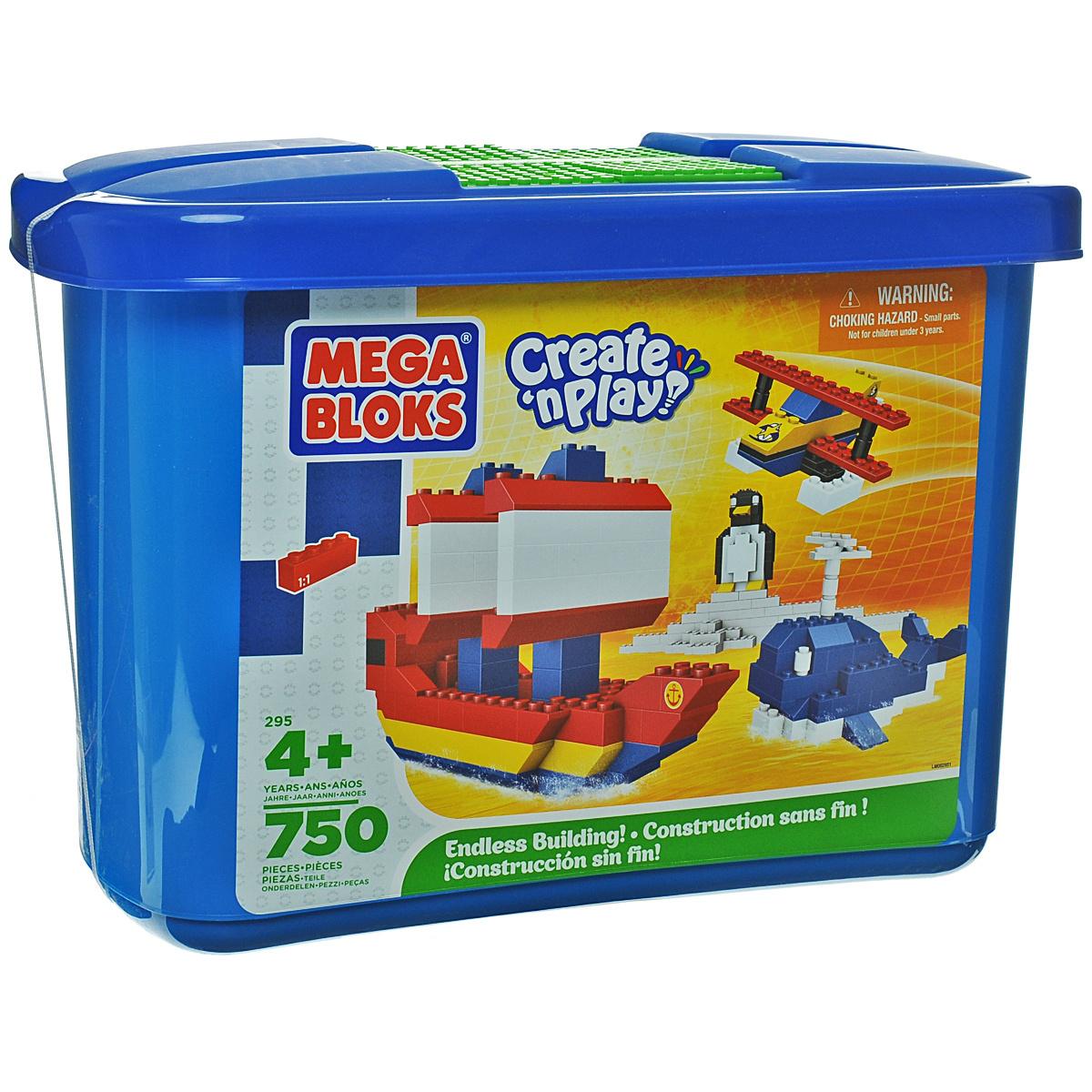 Mega Bloks Create'n Play Конструктор Микро цвет синий #1