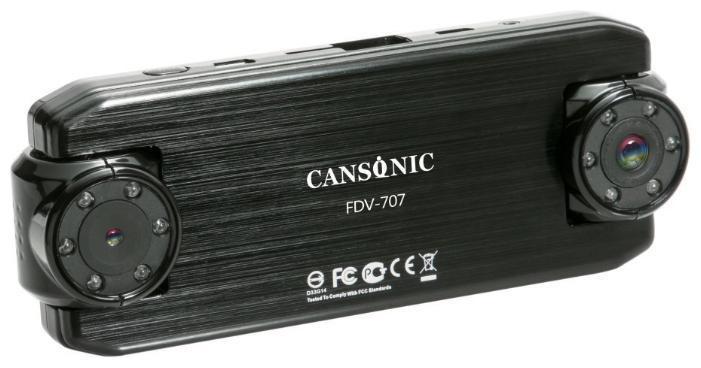 Видеорегистратор Cansonic Cansonic FDV-707 Light видеорегистратор, черный  #1