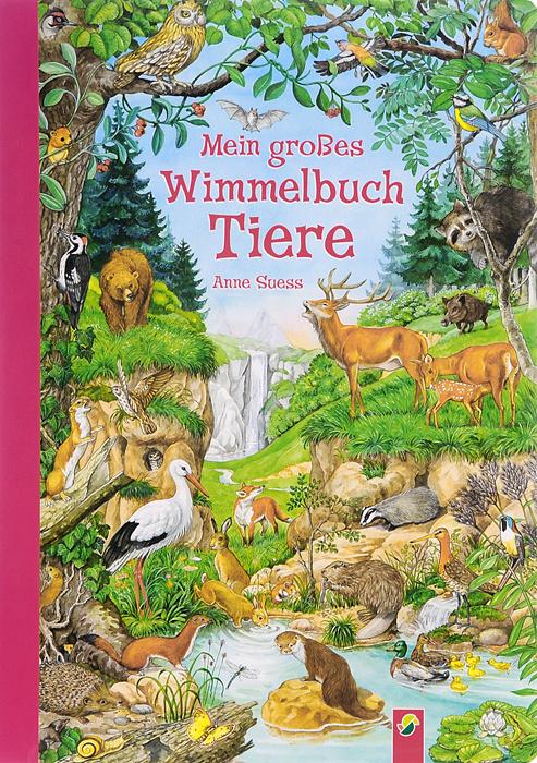 Mein grosses Wimmelbuch Tiere #1