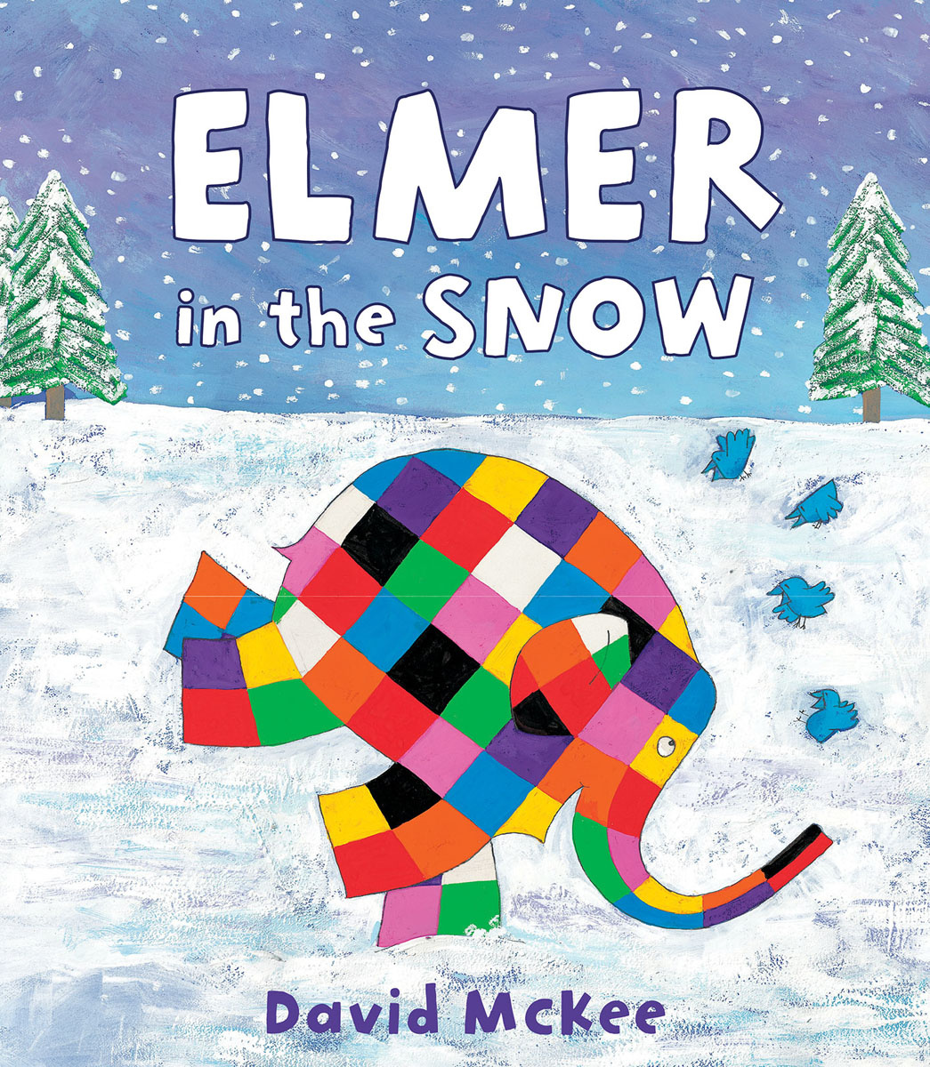 Elmer in the Snow #1