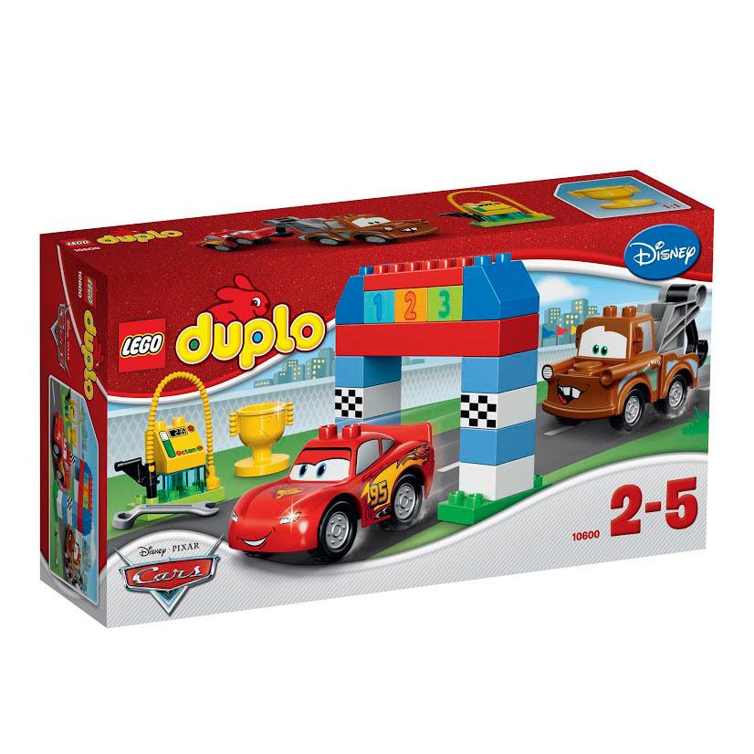 LEGO DUPLO Конструктор Гонки на Тачках 10600 #1