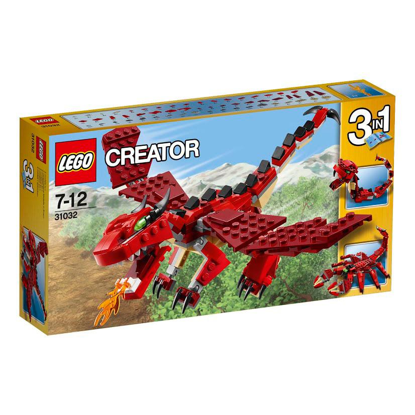 LEGO Creator Конструктор Огнедышащий дракон 31032 #1