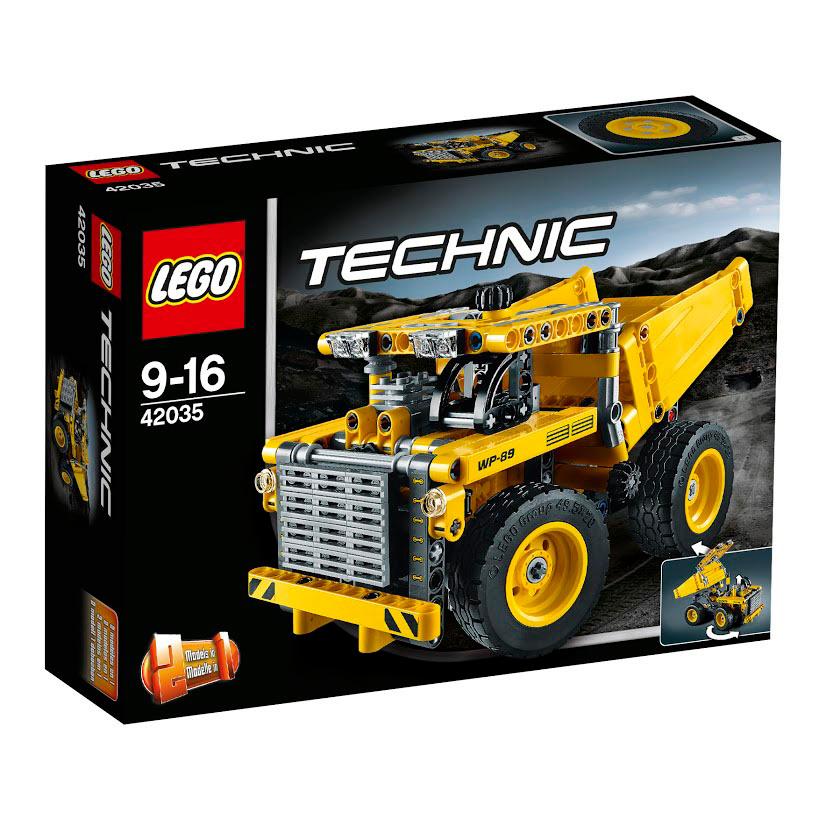 LEGO Technic Конструктор Карьерный грузовик 42035 #1
