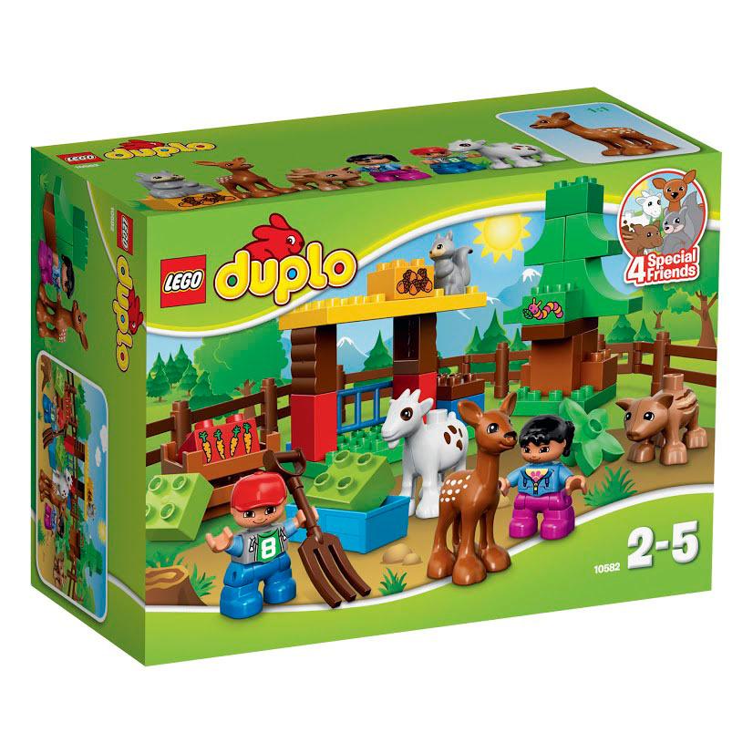 Конструктор LEGO DUPLO 10582 Лесные животные #1