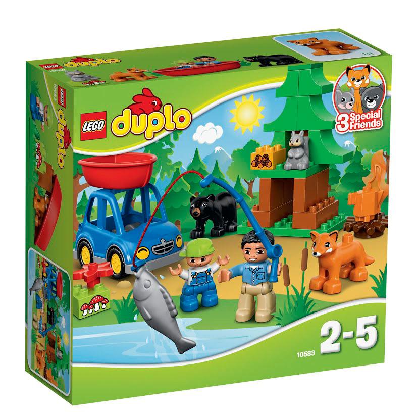 Конструктор LEGO DUPLO 10583 Рыбалка в лесу #1