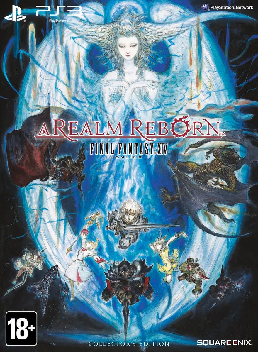 Игра Final Fantasy 14 a Realm Reborn (PlayStation 3, Английский) #1