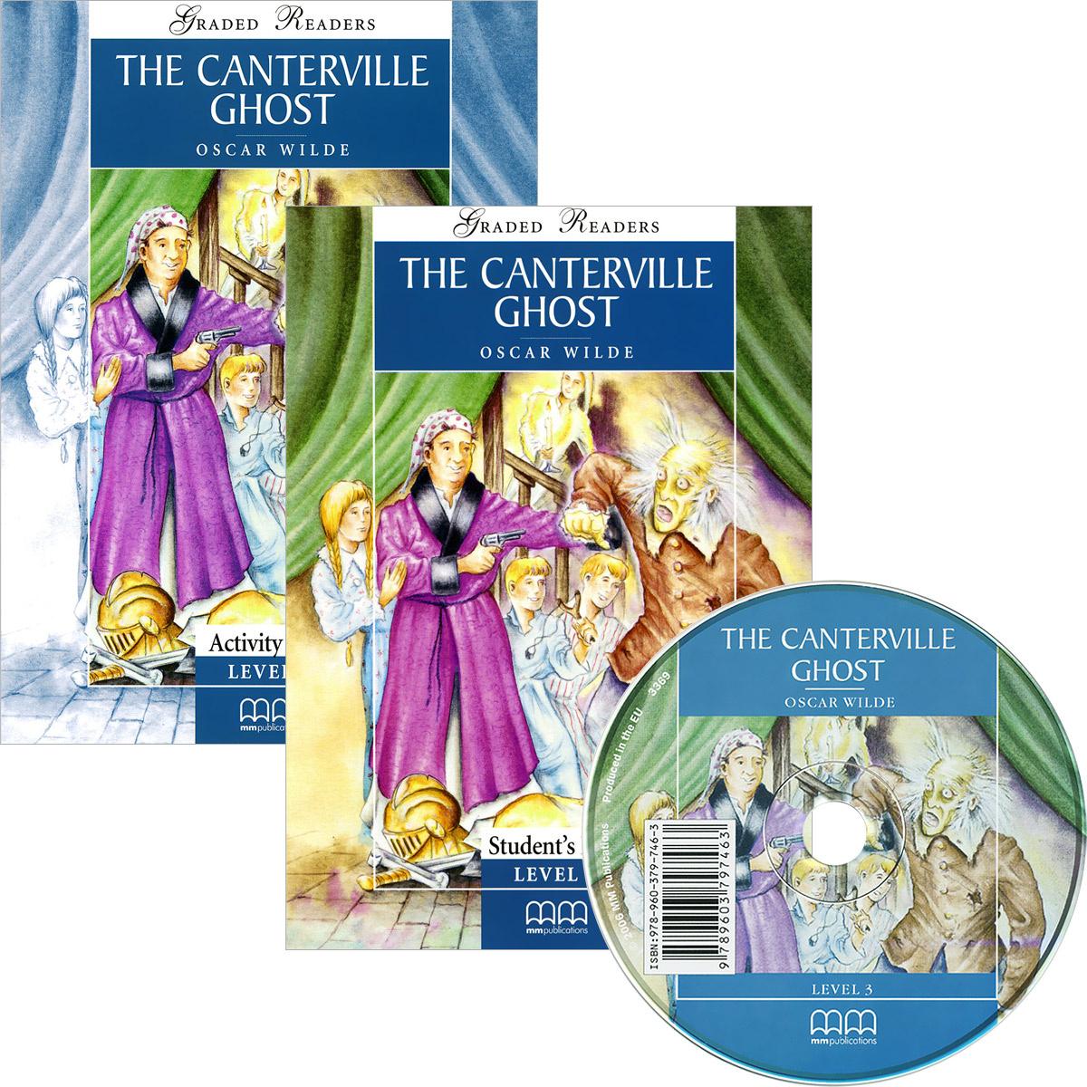 The Canterville Ghost (комплект из 2 книг + CD) | Оскар Уайльд, Moutsou E. #1