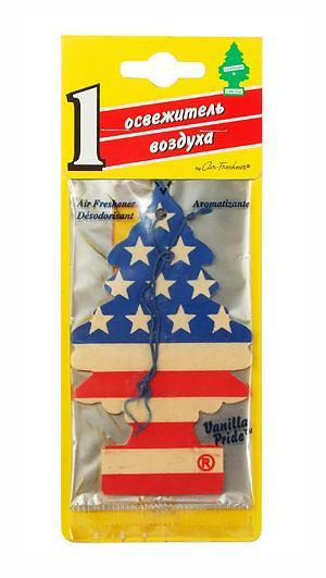 """Освежитель Car-Freshner """"Елочка. Американский флаг"""" #1"""