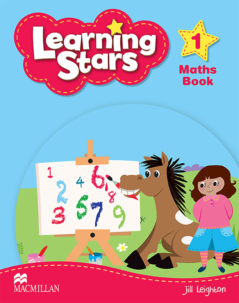 Learning Stars: Level 1: Maths Book | Leighton Jill #1