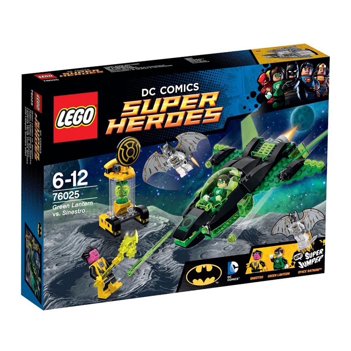 Конструктор LEGO DC Comics Super Heroes 76025 Зеленый Фонарь против Синестро  #1