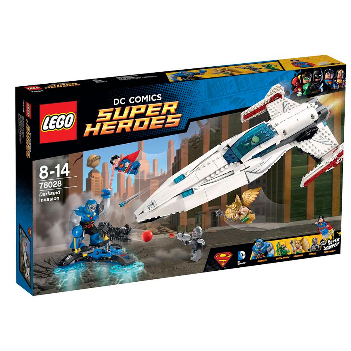 Конструктор LEGO DC Comics Super Heroes 76028 Вторжение Дарксайда #1