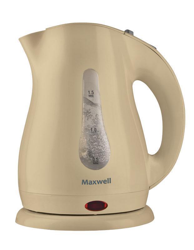Электрический чайник Maxwell Maxwell MW-1025 Yellow, желтый #1
