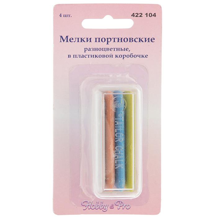 """Мел портновский """"Hobby & Pro"""", 5,5 х 2 см, 4 шт #1"""