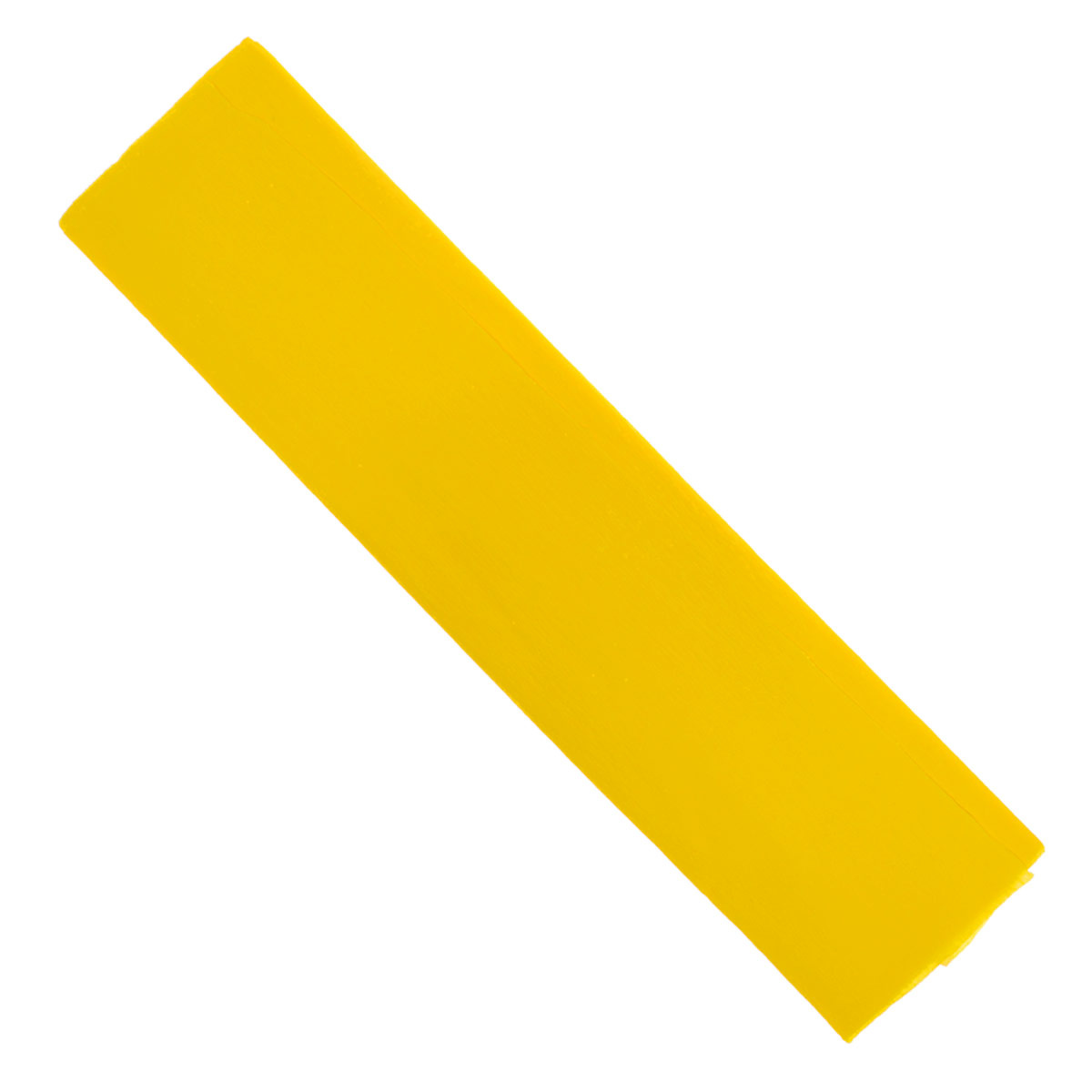 "Крепированная бумага ""Hatber"", флюоресцентная, цвет: желтый, 5 см х 25 см  #1"
