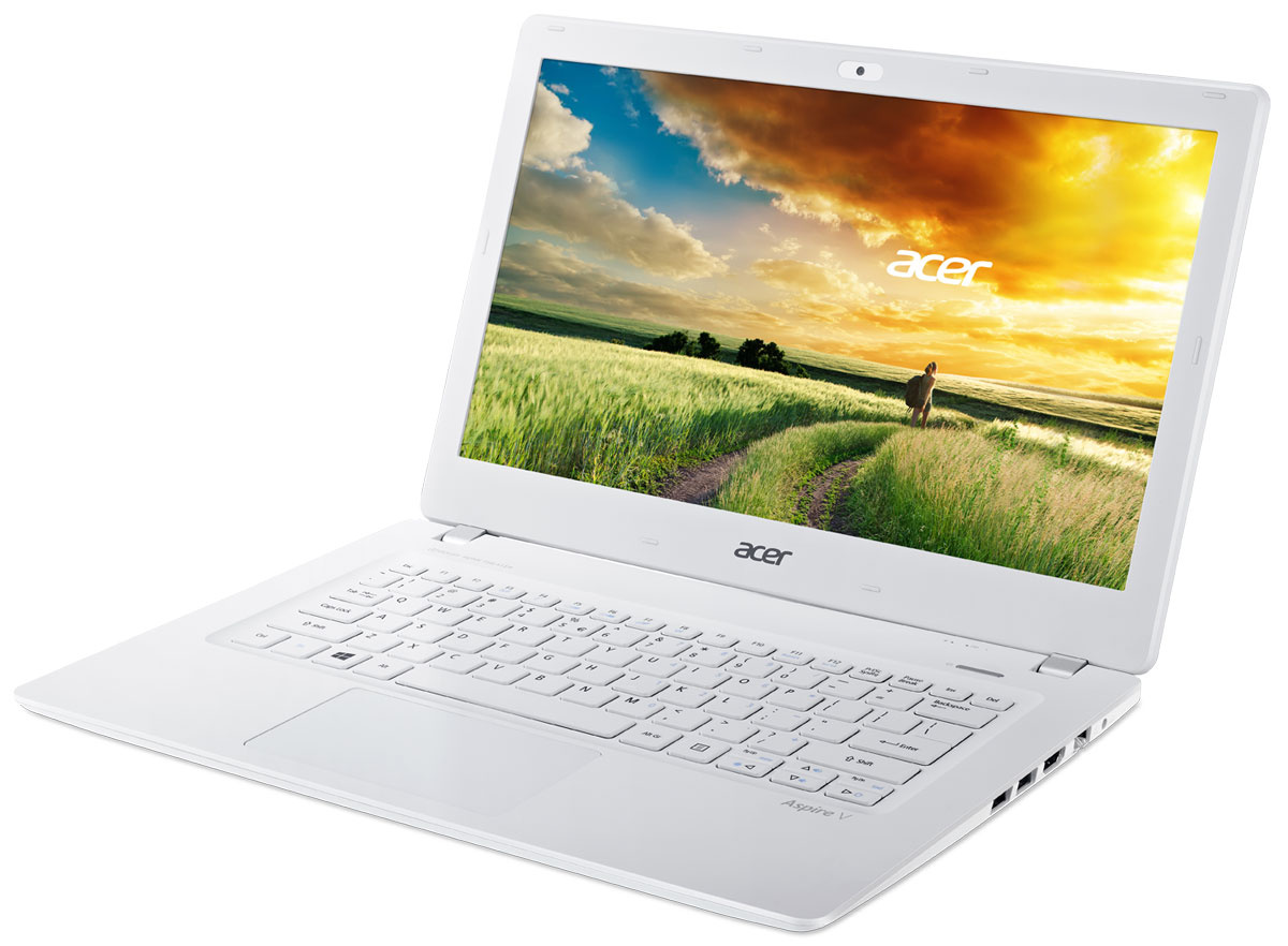 Ноутбук Acer Acer Aspire V3-331 (NX.MPHER.004), white (белый) Intel 3805U / RAM 4GB / HDD 500GB / noODD #1