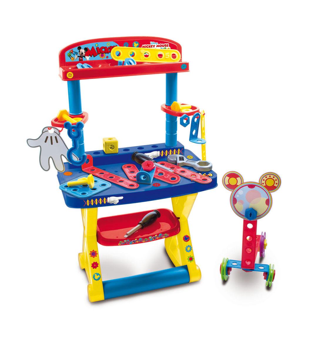 IMC Toys Игрушечный стол с инструментами Mickey Mouse #1