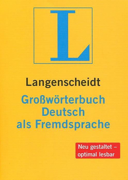 Langenscheidt Grossworterbuch Deutsch als Fremdsprache #1