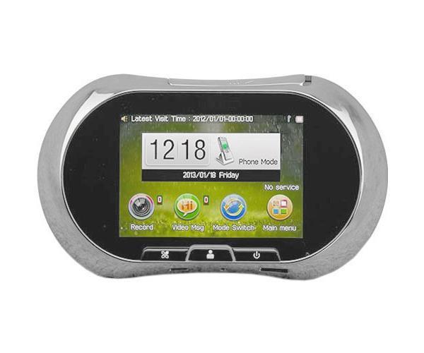 Дверной GSM ГлазОК, Silver #1