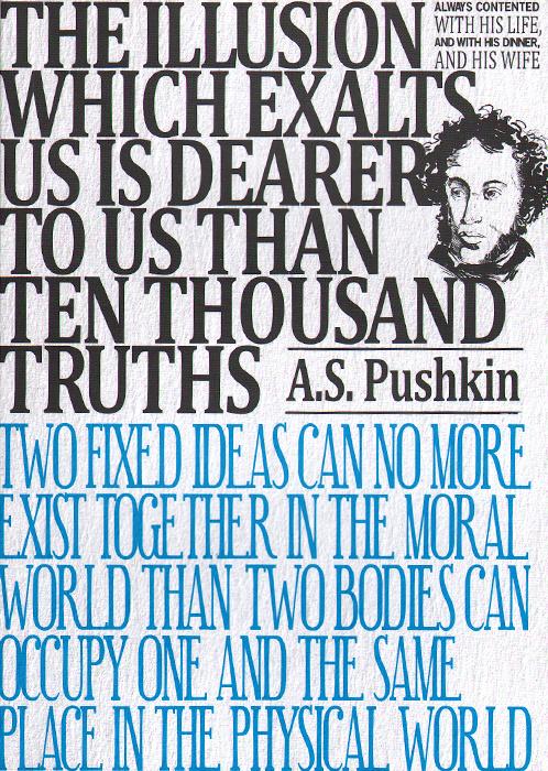 A. S. Pushkin: Notebook #1