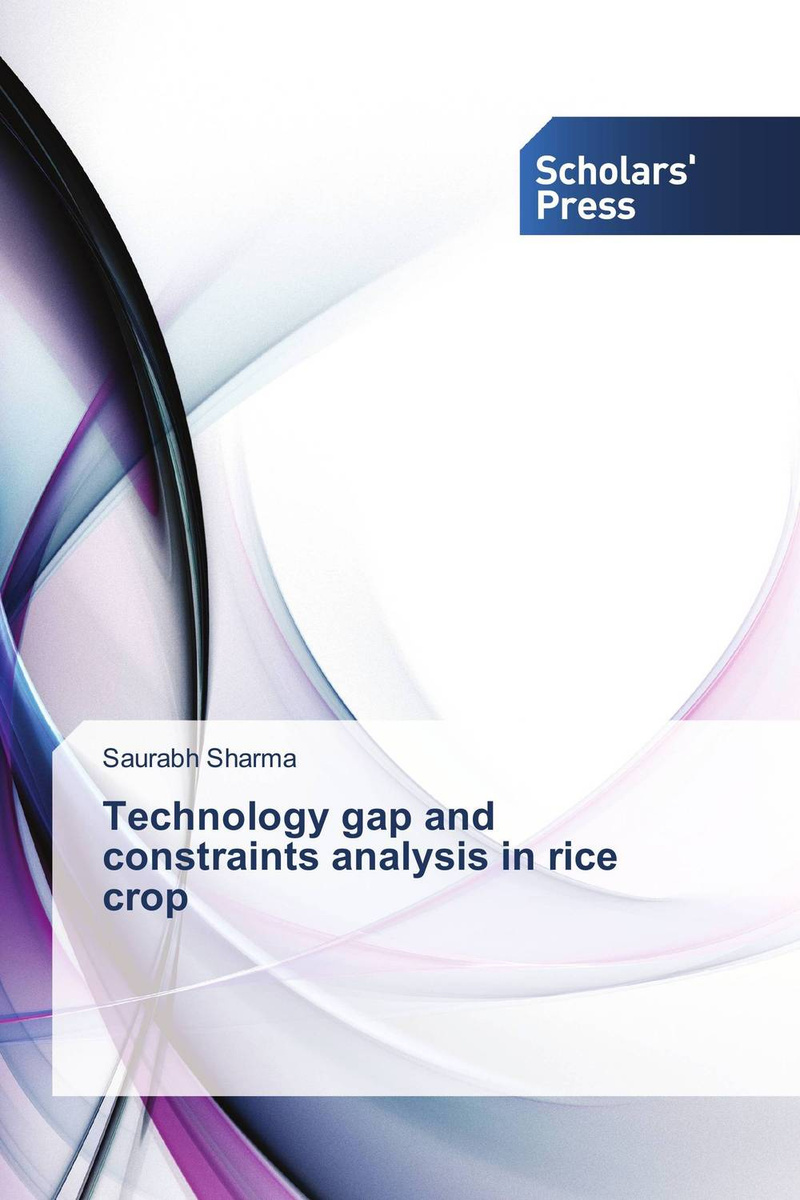 Technology gap and constraints analysis in rice crop #1