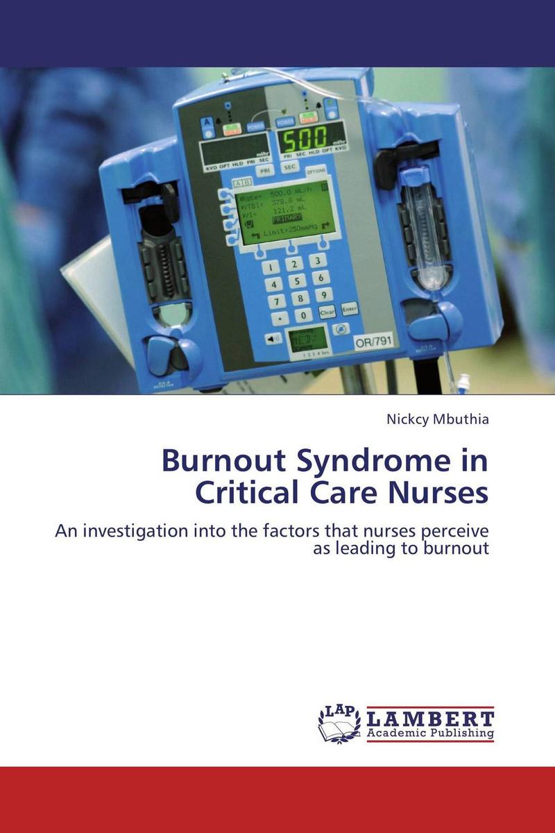 Burnout Syndrome in Critical Care Nurses #1