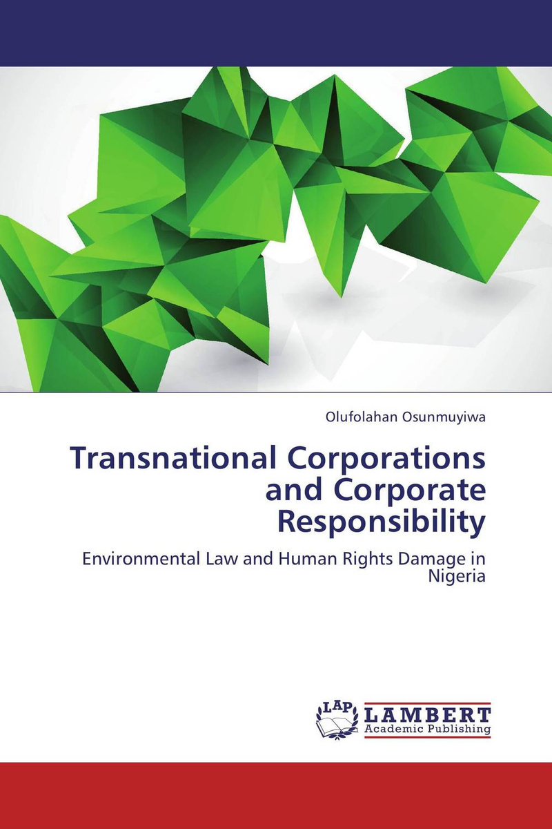 Transnational Corporations and Corporate Responsibility #1
