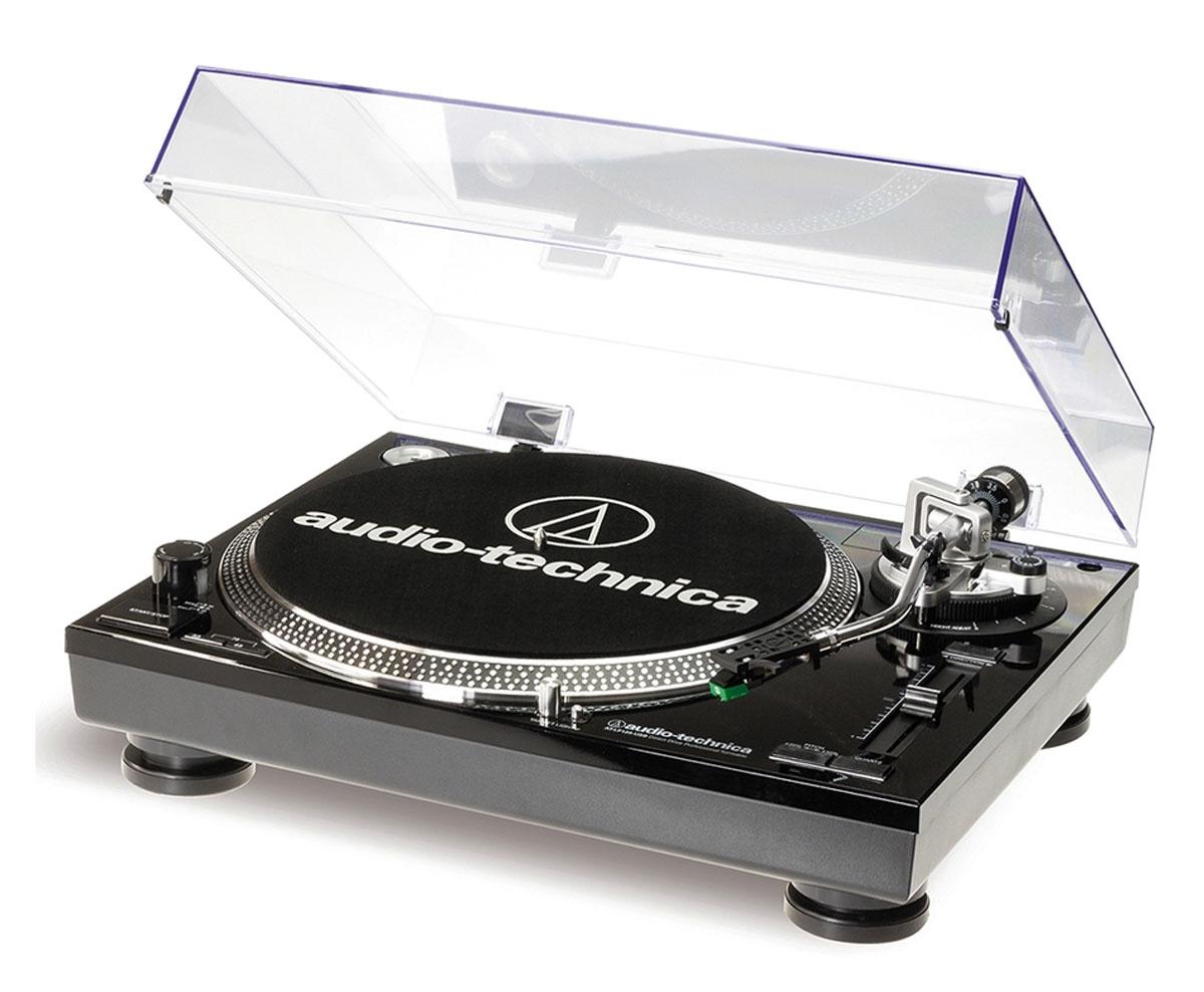 Audio-Technica AT-LP120-USBC, Black проигрыватель виниловых дисков #1