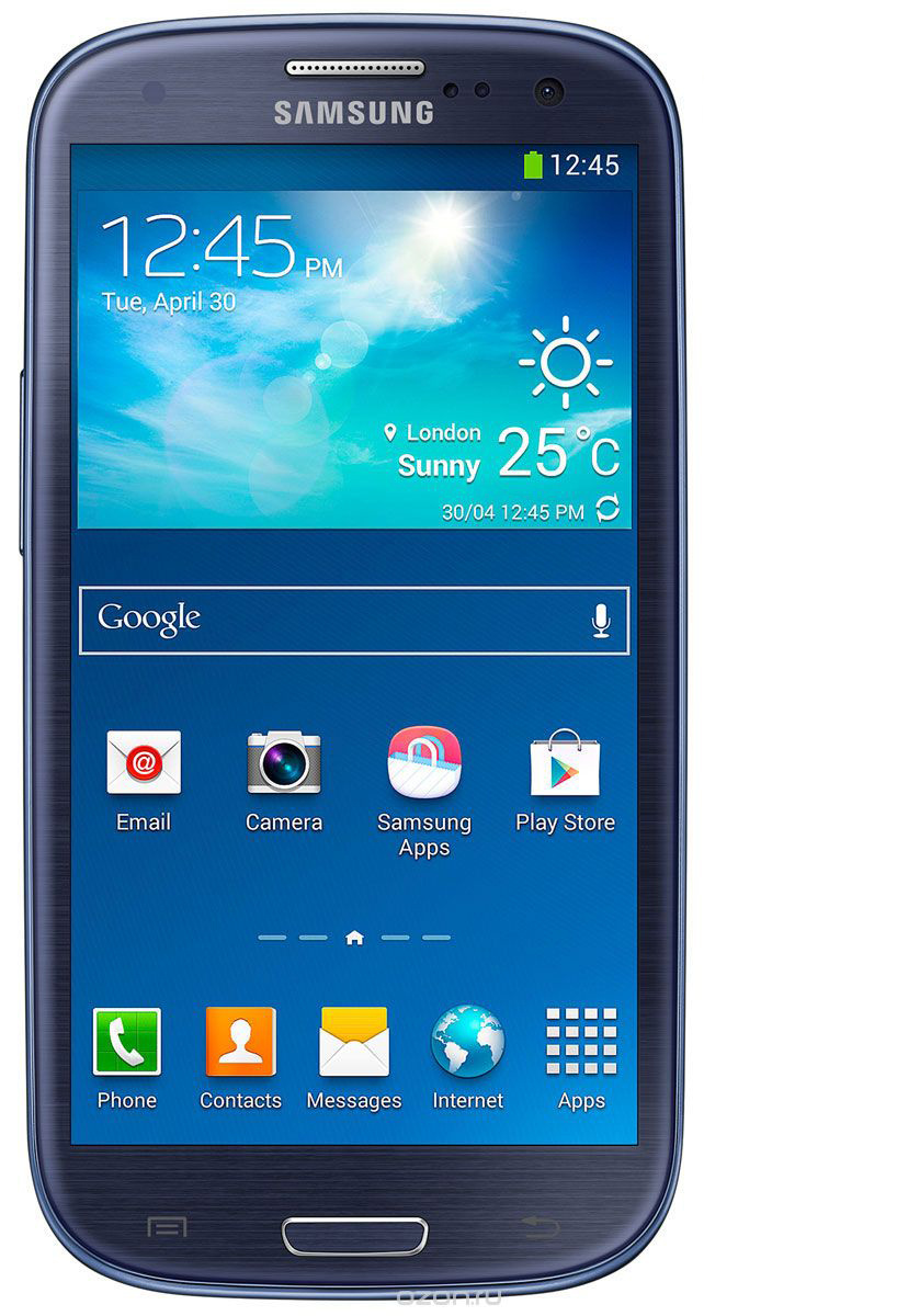Смартфон Samsung GT-I9300i Galaxy SIII Duos 16GB, Dark Blue (темно-синий) samsung galaxy s3  #1