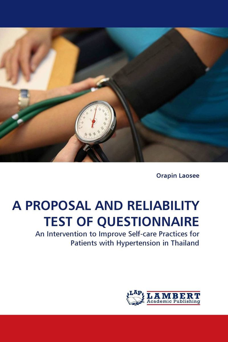 A PROPOSAL AND RELIABILITY TEST OF QUESTIONNAIRE #1